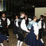 Dança alemã encantou os agentes no Palácio de Cristal