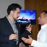 Edson Georges Tahtouh, da IT Mice Travel Solutions, e André Raynaud, da Atout France