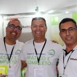 Edson Silva, Sandro Santana e Ronaldo Melo, da Schultz