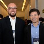 Eduardo Cordeiro, da Collection Hotels, e Marcos Fernando, da B2B Reservas