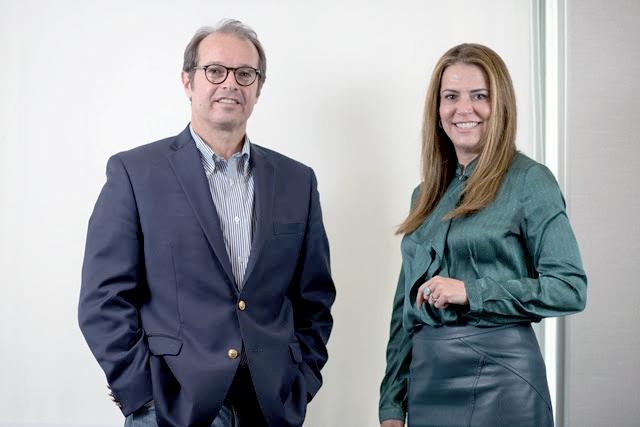 Eduardo Giestas, CEO da Atlantica Hotels e Erica Drumond,  diretora presidente da Vert Hotéis