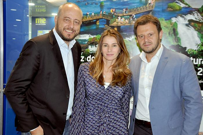 Eduardo Murad Jr, Giovana Jannuzzelli e Rodrigo Cezar, da Alagev