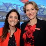 Elaine Rodrigues, diretora de contas Estratégicas AL e Caribe, e Tatiana Venvelzor, diretora de contas regional América Latina e Caribe do Sabre