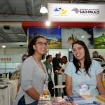 Elen Cristina Andrade, da SPTuris, e Ana Cristina Clemente, da Setur-SP
