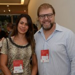 Elen Salloum e Riad Salloum Filho, da Tower Franca Hotel