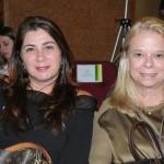 Fátima Facuri e Adriana Carvalho, da ABEOC