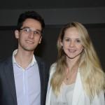 Fabio Sterpeloni e Priscila Macedo, da Amadeus