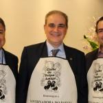 Felipe Gonzales, Alceu Vezzozo Filho e Fernando Valente