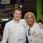 Felipe Timerman, do Sea World Parks, e Biro-Biro, Ex-jogador de futebol