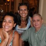 Fernanda Mackert, da Mackert Trips, Lara Bourguignon, da Milênio, e Neucedir Valerio, da EcoMar Viagens e Turismo
