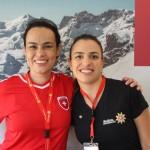 Fernanda Maldonado e Natalia Leal, do Switzerland Tourism