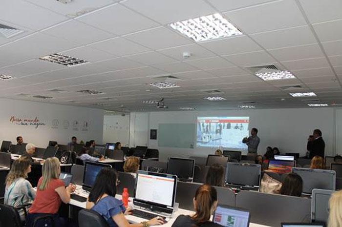 Empresa realiza evento para clientes com o intuito de demonstrar as principais novidades da solução para reserva on-line foto:Divulgação