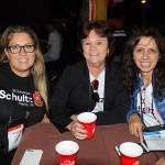 Francielle Nogueira, da Schultz, Laura Lang, da Go Travel, e Danelise Sartori