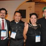 Guilherme Nalesso, da Nossoverde Turismo, Fernando Moura, Maria Jose, e Luciano Bonfim, da Schultz
