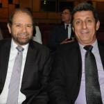 Guilherme Paulus, da GJP, e Rogerio Siqueira, do Beto Carrero