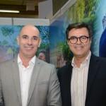 Heber Garrido e Flávio Monteiro, diretor de Marketing e Vendas e diretor de Operações do Grupo Rio Quente