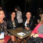Jamile Dahas, da Sassim e Lima Viagens, Renata Resende, da Polifit Travel, Mônica Trindade, do Armazen da Viagem, e Inody Campos, da Larissatur Turismo