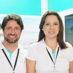 João Faria e Luciene Xavier, do Iberostar