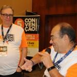 José Carlos de Menezes, diretor, e Marilberto França, da Affinity