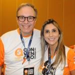 José Carlos de Menezes e Ana Paula Teixeira, da Affinity