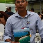 Jucilei Pereira, da Secretaria de Turismo de São Sebastião