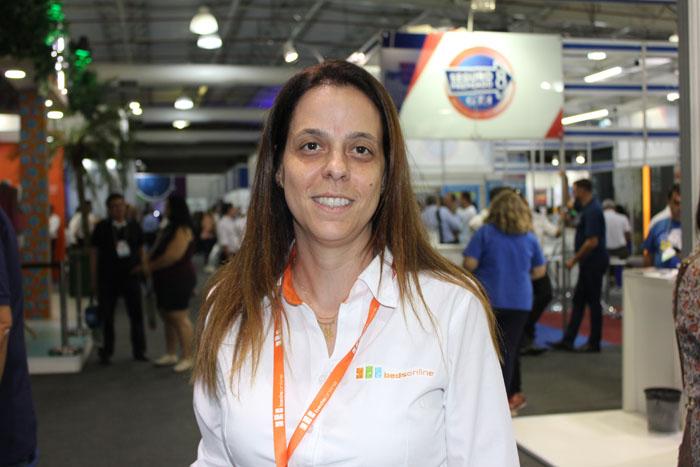 Juliana Luengo, gerente nacional da Bedsonline acredita que esta edição do evento trará mais fornecedores e parcerias