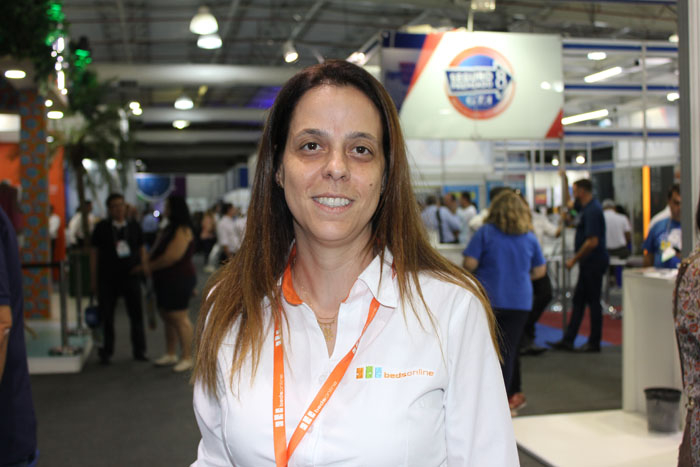 Juliana Luengo, diretora de Marketing e Vendas da Bedsonline