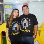 Karla Ferreira e Francisco Cardoso, da Prefeitura Municipal de Parintins