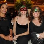 Lili Costa, da Delta Turismo, Monica Dias, da Yellow Trips, e Carla Soltau, da Soltau Viagens