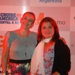 Luciana Zardo do Rio Quente Resorts-Costa do Sauipe e Vera Lacia Meza Representante do Turismo do Parana