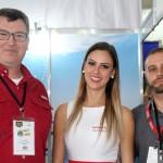 Luis Inácio da RCA com Samantha Ofsiani e Wellington Melo da Avianca