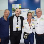 Mário Gomes e Roberto Gracioso, do WZ Hotéis, Mari Masgrau e Roy Taylor, do M&E
