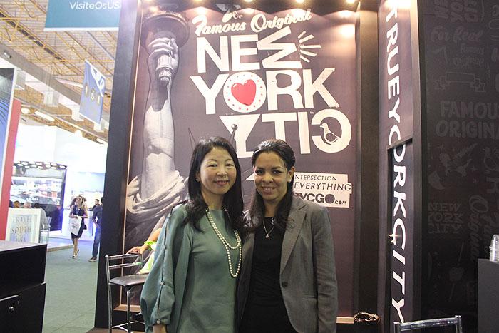 Makiko Matsuda Healy e Lisa Tejeda, de NYC & Company