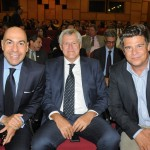 Marcelo Alves, presidente, com Lucio Macedo e Mauricio Werner, da Riotur