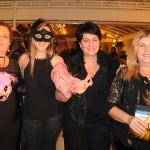 Maria Ines, da Vendra Turismo, Michele Sarri, da Estação Floresta, Silvia Chaves, da Intercambios ME, e Aracelis Bresciani