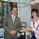 Marina Barros e Fernando Harb, do Greater Fort Lauderdale CVB