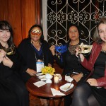 Marina Mangeon, Ana Maria, da Eziel, Maria Luiza Chavez, e Renata Torres, da Franztur