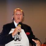 Michelão saúda os participantes e lembra os 37 anos do Clube do Feijão Amigo