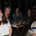 Michelle Kroker, da Soneto Turismo, Ines Melo, da Stanfer Viagens, Jessica Araujo, da Grão Brasil, Ieda Xavier, da Costa Mediterrânea Viagens, e Denise Baltch, da Tiua Turismo