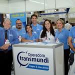 Miguel Andrade com sua equipe da Transmundi