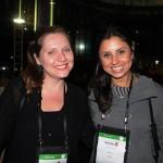 Nicole Nanci, da Holanda, e Aline Sobreira, da BD Travel