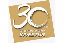 Investur comemora 30 anos com nova logo e novo material promocional