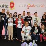 Os agentes premiados durante a Convenção 2018
