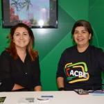 Rachel Coelho e Riterlania Ramos, do Governo do Estado do Acre