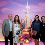 Renato Urbinder, da Aonde Casar, Zdenka Conflant, da Disneyland Paris, Simone Tostes, da Aonde Casar, e Isabele De La Monte, da Disneyland Paris