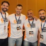 Ricardo Melo (RS), Belmar Jr (RS), Rogério Gomes (RJ) e Alexandre Lança (RJ), da Affinity