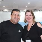 Robson Correa da Visual CVC com Valdinez Sabatovicz, da TZ Viagens