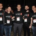 Rodrigo Bonelli, Paulo Manuel, Rodrigo Rodrigues, Rafael Turra e Nelson Moreira, da Schultz