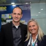 Rodrigo Napoli, ex-Avianca, e Rosa Masgrau, do M&E
