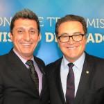 Rogerio Siqueira, presidente do Beto Carrero, e Vinicius Lummertz, ministro do Turismo